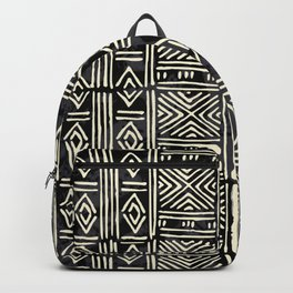 Tribal mud cloth pattern Backpack