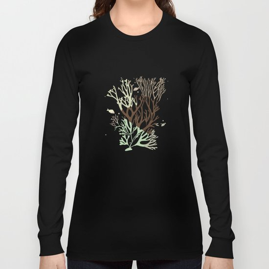 Under the Sea - Abstract Long Sleeve T-shirt