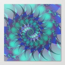 unfolding -3- Canvas Print