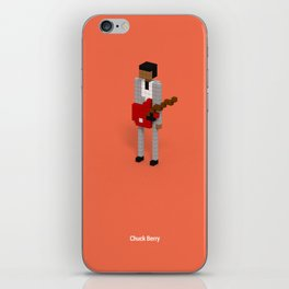 Voxel Chuck Berry iPhone Skin