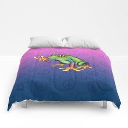 Peace Frog Comforters
