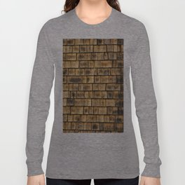 Window and cedar wall Long Sleeve T-shirt