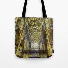 York Minster Van Gogh Style Tote Bag