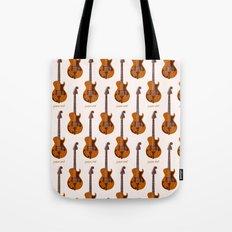 Merle Travis Bigsby Guitar Tote Bag