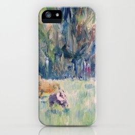 RUNNING DOGS iPhone Case