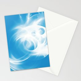 abstract fractals 1x1 reacwb Stationery Cards