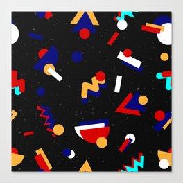Memphis geometric pattern #2 Canvas Print