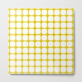 Franzen Yellow Metal Print