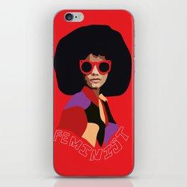 Feminist Afro iPhone Skin
