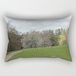 Fawsley Countryside Northamptonshire Rectangular Pillow