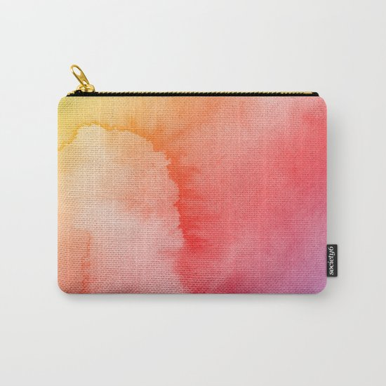 Watercolor Gradient Carry-All Pouch