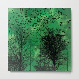 Turning Green Metal Print