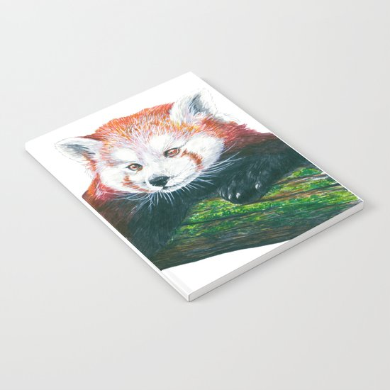 Red panda bear Notebook
