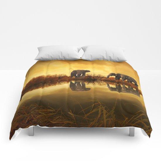 Elephant 3 Comforters