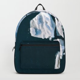 Lone, minimalist Iceberg from above - Landscape Photography Backpack