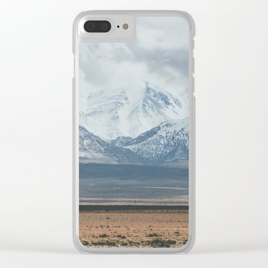 Atlas Mountains Clear iPhone Case
