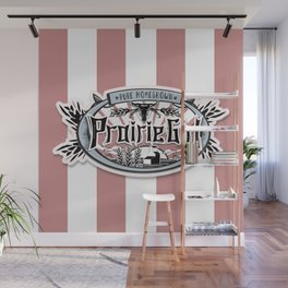 Prairie Girl Wall Mural