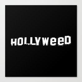 Hollyweed Canvas Print