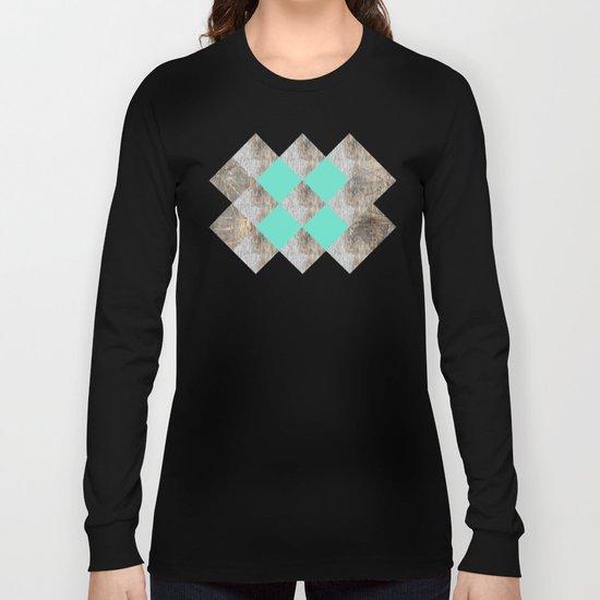GeometricWood Long Sleeve T-shirt