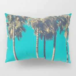 A Few Turquoise Palms Pillow Sham