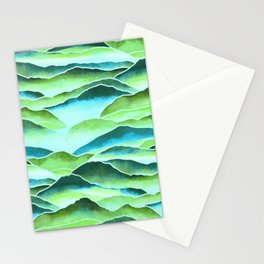 Rainforest Mountains  Stationery Cards