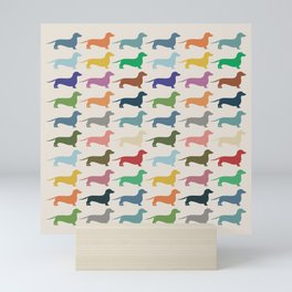 Dachshund Mini Art Print