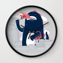 Sunday Picnic Wall Clock