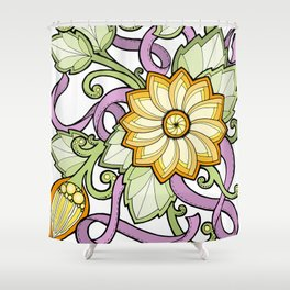Floral beauty Shower Curtain