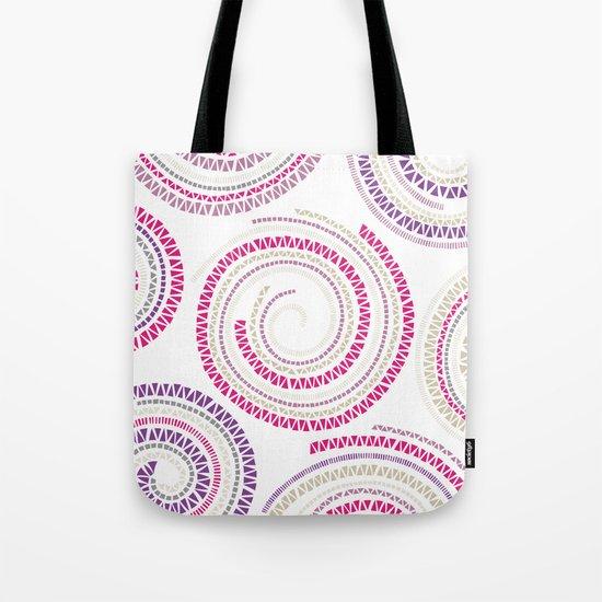 Mosaic Swirls Tote Bag