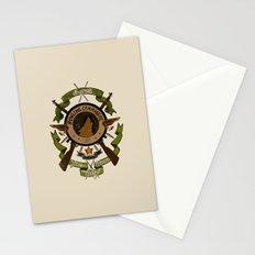 Sgt Bucky Barnes (green) Stationery Cards
