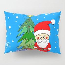 Merry Santa Claus Pillow Sham