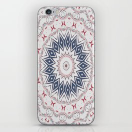 Dreamcatcher Berry & Blue iPhone Skin