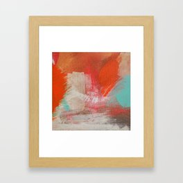 Fire on the Water Framed Art Print