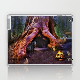 Magic in the Forest Laptop & iPad Skin