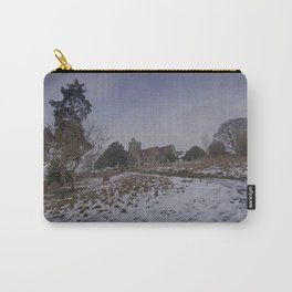 Boughton Church In Winter Carry-All Pouch