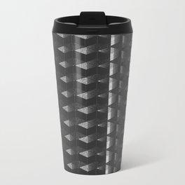 Burnt Out Noir Metal Travel Mug