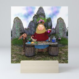 Utla the potion maker Mini Art Print