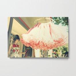 Crinoline Skirt  Metal Print