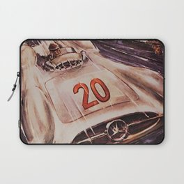 1953 Grand Prix Racing at Frankrig Advertisement Portrait Laptop Sleeve