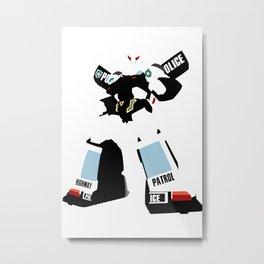 Transformers G1 - Autobot Prowl Metal Print