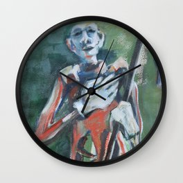 Those were Days of Roses, Poetry and Prose Wall Clock