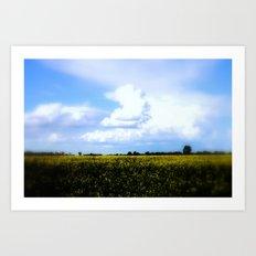 Earth and Heaven Art Print