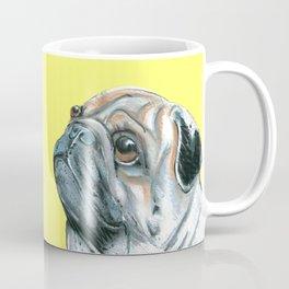 Pug, printed from an original painting by Jiri Bures Coffee Mug