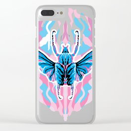 Goliathus Beetle _ psychedelic bug 1.0 Clear iPhone Case