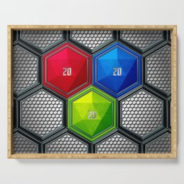 D20 Critical Creative Serving Tray