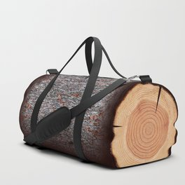 Tree Log Duffle Bag