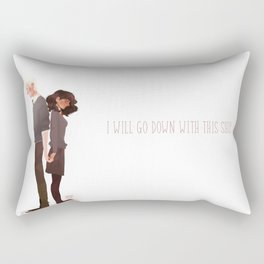 Dramione  Rectangular Pillow