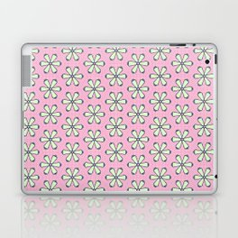 Bright Pink Flowers Laptop & iPad Skin