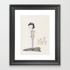 ghost candy. Framed Art Print