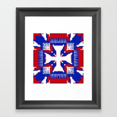 Colors of a Nation Framed Art Print